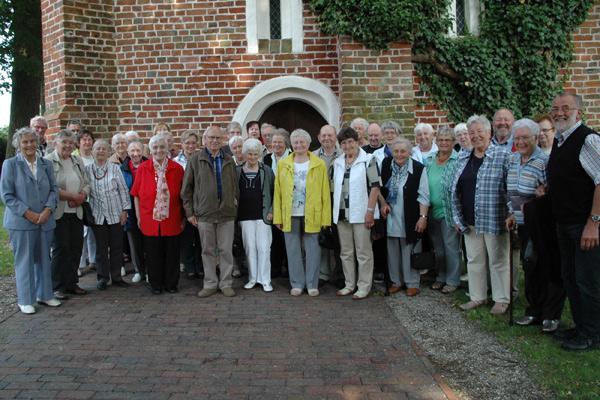 Gruppenfoto vom Ausflug der Frauenhilfe