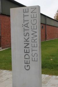 Eingang Gedenkstätte Esterwegen