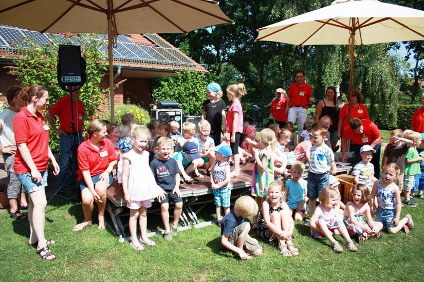 Sommerfest im evangelischen Nikolai-Kindergarten