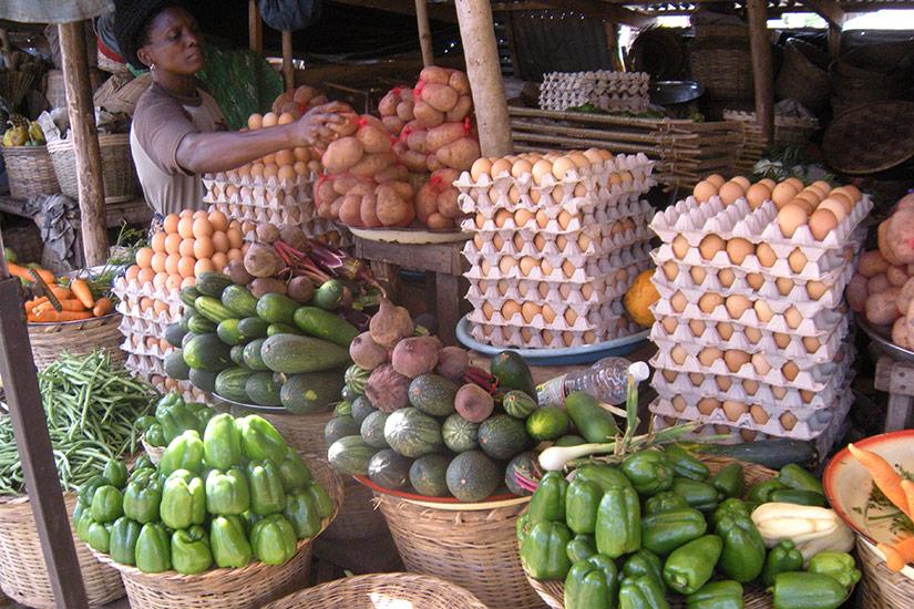Auf dem Markt in Kpalimé