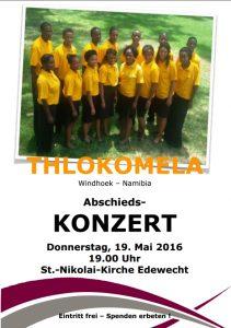 Thlokomela.Konzert